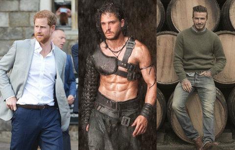 Nejvíc sexy muži celé planety: Který se vám líbí nejvíce?