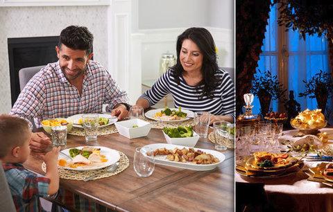 Sešli jste se u večeře? Exkluzivní průzkum z českých domácností