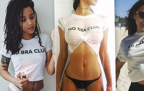 Ženy, odhoďte podprsenky, je to symbol útlaku, vyzývá hnutí. Instagram zavalily fotky bez