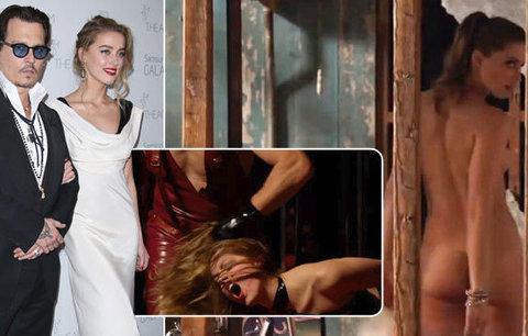 Sexy exmanželka Deppa Amber Heard: Soudila se kvůli nahotě ve filmu!