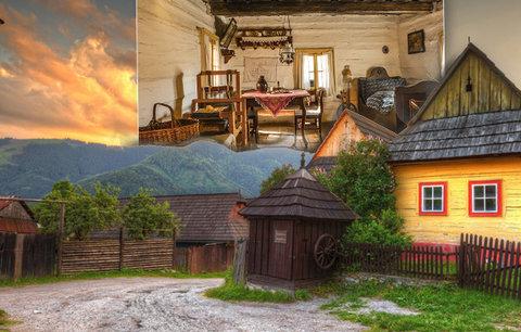 Utajený poklad Slovenska: Pohádkový Vlkolínec patří k nejkrásnějším místům Evropy