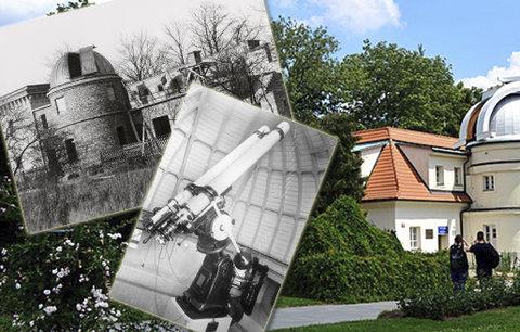 Pražané už 90 let pozorují hvězdy na Petříně: Štefánikova hvězdárna mohla stát jinde!