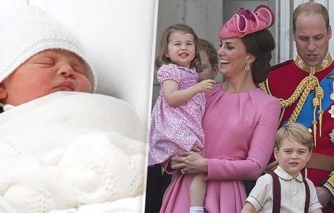 Křtiny prince Louise se blíží! Koho Kate a William vyberou za kmotra?