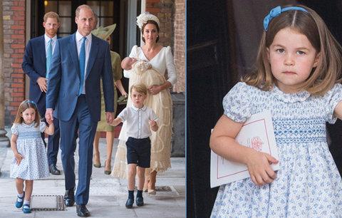 Rázná princezna Charlotte: Dvěma slovy uzemnila dotěrné novináře!