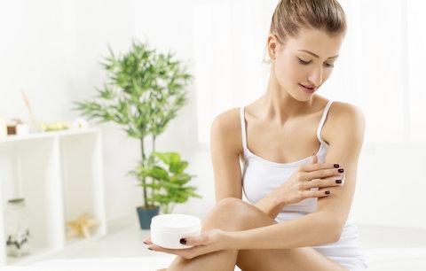 Test tělových mlék a krémů: Které pokožku hydratují a dobře se vstřebávají?