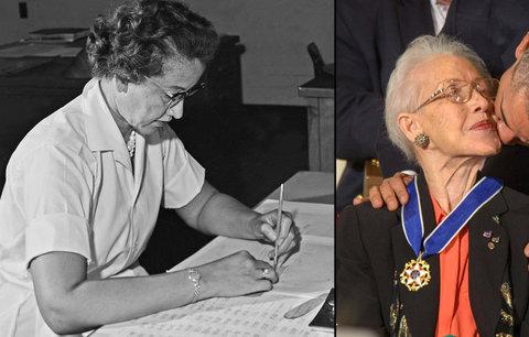 """""""Lidský počítač"""" oslavil 100 let! Geniální matematička Katherine Johnson počítala dráhy letu raketám"""