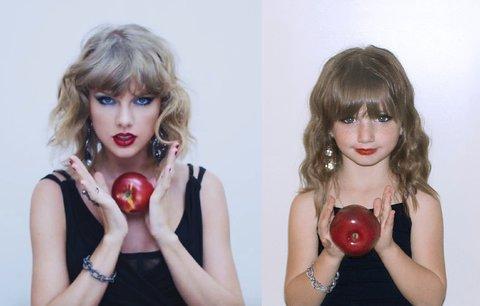 V šesti letech je posedlá Taylor Swift. Matka jí pomáhá vypadat jako ona!