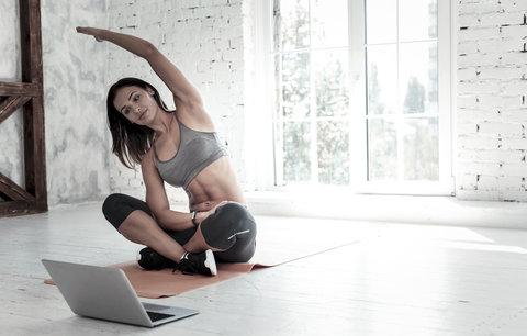Cvičit můžete i doma a zdarma. Našli jsme ty nejlepší on-line programy!