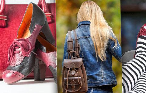 Došlápněte si na podzim! 5 módních trendů, které musíte znát: Letí třpyt, zvířecí vzory i batůžky