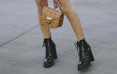 Okořeňte svůj styl a obujte drsné boty k něžným šatům! Kde koupit ty  nejhezčí  a1ffab06b1