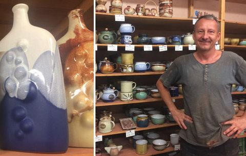Život zasvětil práci s hlínou: Petr (52) pokračuje v rodinné tradici, svým dětem by svou práci nepřál