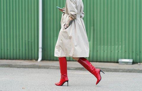 Barevné boty zaženou podzimní nudu v šatníku! Kde je koupíte a za kolik?