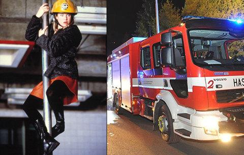 VIDEO: I Bridget Jones by zírala! Na výjezd hasičům stačí necelá minuta! Mrkněte, co natočil jeden z nich!