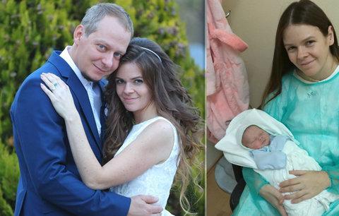 Popálená maminka Marta konečně našla štěstí: Rok od požáru na porodním sálu se vdala!