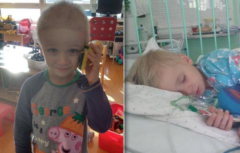 Rodina smrtelně nemocného Matěje (4) nutně potřebuje pomoc: Shání peníze nejen na léčbu