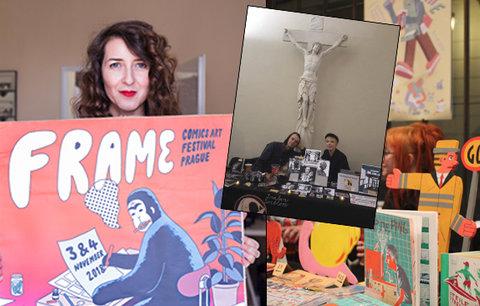 Komiksy nejsou jen četbou pro děti! České talenty mizí, tvrdí zakladatelka festivalu Frame