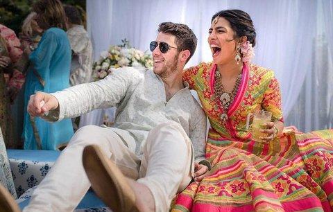 Nick Jonas a Priyanka Chopra: Po sobotní svatbě druhý obřad v neděli!