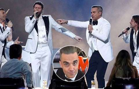 Že by comeback? Robbie Williams opět po boku kolegů z Take That!