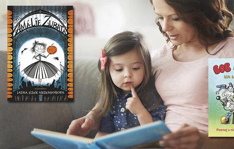 Tyhle knihy děti přečtou jedním dechem! Potěší Amálie Zubatá, Bob s Bobkem nebo komiks podle Čapka