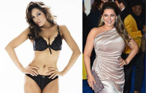 Obryně Stáňa nebo glamour modelka? Kelly Brook je i zaoblená středem pozornosti