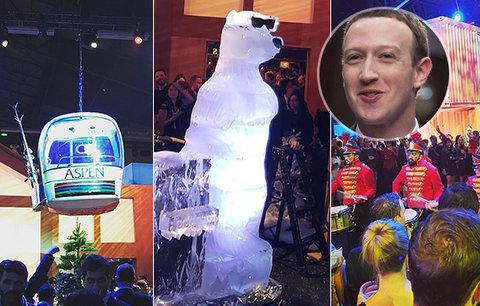 Pompézní vánoční večírek Facebooku: Zuckerberg se plácl přes kapsu! Při dvoudenní párty tekl alkohol proudem