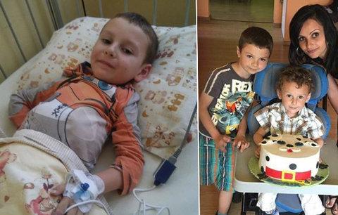 Patrik (5) bojuje se zákeřnou chorobou: Lék za miliony mu může zachránit život!