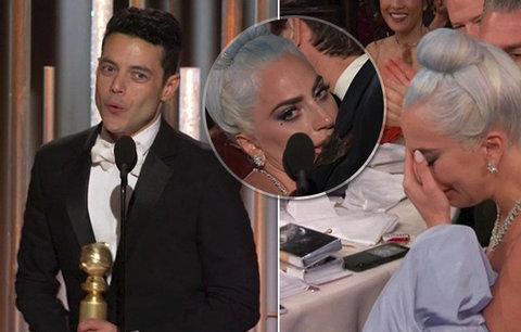 Zlaté glóby 2019: Lady Gaga neustála porážku s Bohemian Rhapsody! Slzy jako hrachy