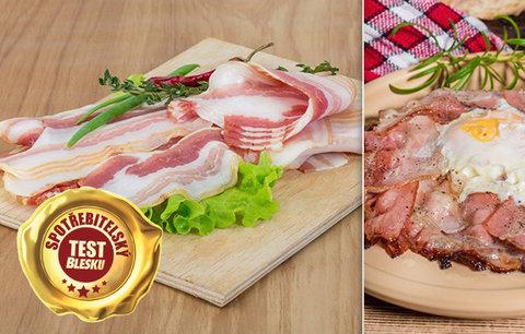 Výrobce anglické slaniny překvapil: Tohle sliboval na obale, laboratoř ale zjistila opak!