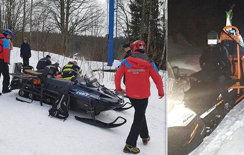 Dva čeští skialpinisté se zranili na Slovensku: Musela je zachraňovat horská služba