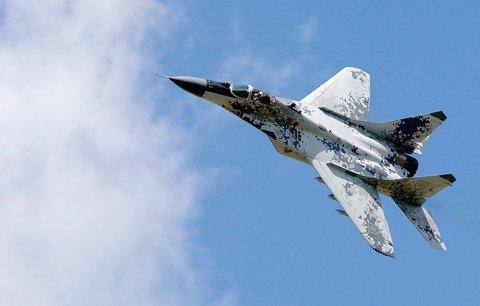 Vojenská stíhačka se zřítila při cvičném letu! Migu nejspíš došlo palivo