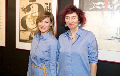 Sestry v triku Krobotová a Babčáková: Na stejné akci ve stejných šatech!
