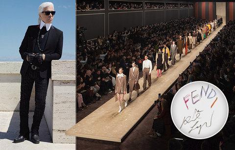 Poslední přehlídka Karla Lagerfelda (†85): Promluvil ze záhrobí!