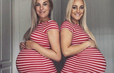 Nejlepší kamarádky neplánovaně otěhotněly ve stejnou dobu. Počtvrté!