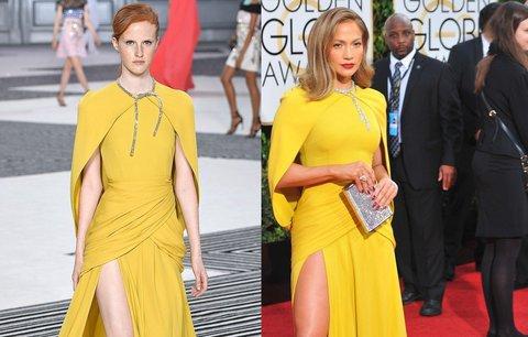 Móda pro každého, nebo jen pro dokonalé modelky? Komu podle vás sluší tyto šaty víc?