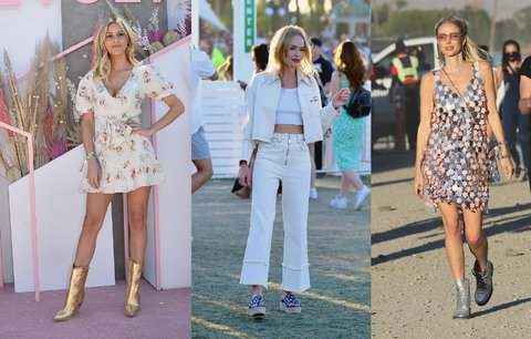 Češky na festivalu Coachella. Kdo určil trendy pro nastávající sezonu?