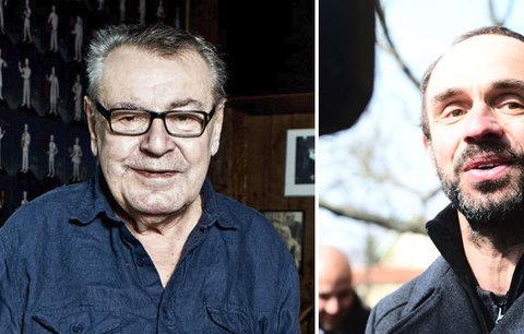 Další pocta zesnulému Miloši Formanovi (†86): Dabovat tátu bylo těžké, říká syn Petr