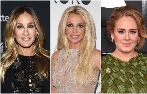 Celebrity a jejich nešvary: Kdo si kouše nehty a kdo je blázen do nakupování?