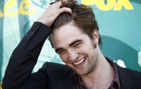 Robert Pattinson: Chtěl jsem být striptér a rapper