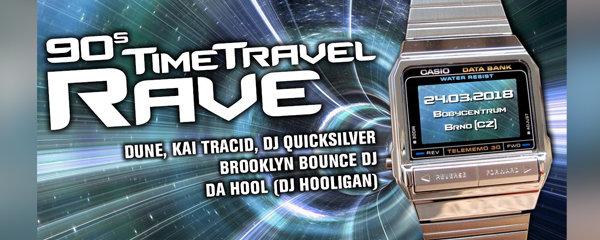 Legendy elektronické scény míří do Brna na 90s Time Travel Rave: Bobycentrum rozezní hardtrance i happy hardcore