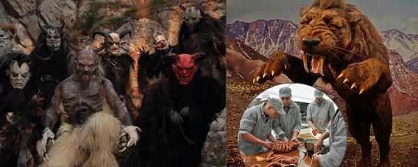 20 tipů na víkend: Show děsivých krampušáků, výlet do pravěku i pravá zabijačka
