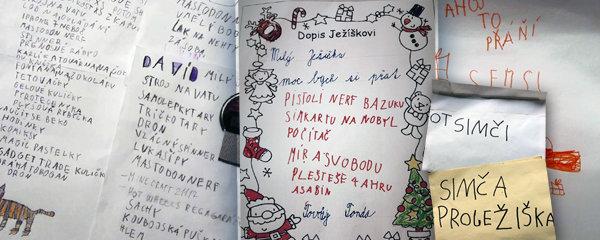 Milý Ježíšku, přines BAZUKU, MÍR A SVOBODU, a taky PLEŠTEŠE! Vánoční dopisy dětí vás dostanou