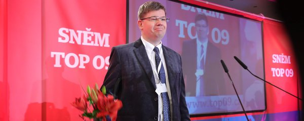 Exministr Pospíšil chce ovládnout Prahu. S Marvanovou povede kandidátku TOP 09 a STAN
