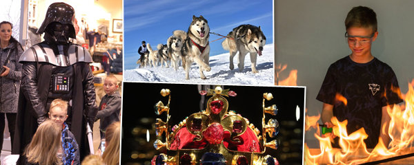 25 tipů na víkend: Královské klenoty, závody psích spřežení i překvapivé pokusy