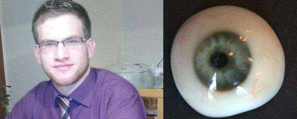 Ondřej (23) vymyslel převratnou metodu výroby očních protéz: Tiskne je na 3D tiskárně!
