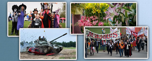 Tipy na víkend: Voňavá Olomouc, ohnivé čarodějnice, pražský majáles i veteráni