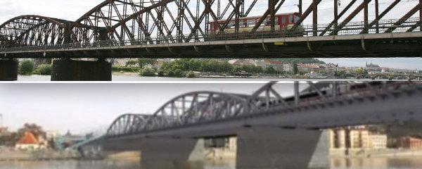 """""""Životnost mostů je závislá na vůli je udržovat,"""" říká architekt. Památkáři s bouráním železničního mostu nesouhlasí"""