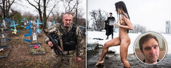 Potkal sériové vrahy, vojáky z Donbasu i vymítače ďábla: Fotky Davida Těšínského (28) otiskly i světové deníky