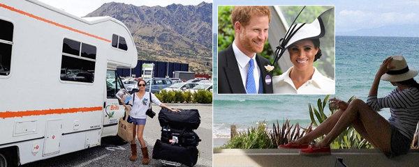 Dosud utajené fotky vévodkyně Meghan! Jak si před svatbou s Harrym užívala na Novém Zélandu? Byla tam i na líbánkách s exmanželem