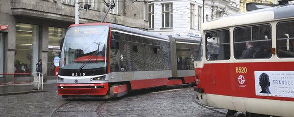 Klíčový tramvajový uzel Lazarská–Spálená se na 11 dní uzavře kvůli opravám. Kudy MHD pojede?