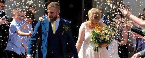 """Dojemná svatba: """"Budu tě milovat, i když na to zapomenu,"""" slíbil ženich (31) s Alzheimerem"""